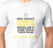 Baseball / Softball Favorite Player Unisex T-Shirt