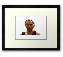 David Guetta  Framed Print