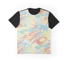 Ocean of Flame Marble Graphic T-Shirt