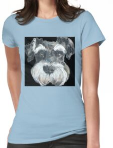 Harry the Miniature Schnauzer Womens Fitted T-Shirt