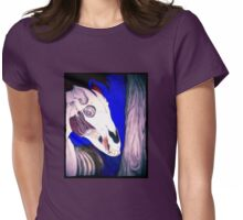 Lisa Frank Nightmare Womens Fitted T-Shirt