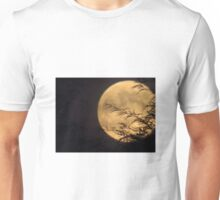 Gold Moon Unisex T-Shirt