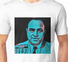 Stylized Al Capone Mugshot Unisex T-Shirt
