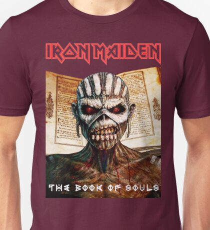 ALE16 Iron Maiden  the book of souls XMAS Unisex T-Shirt