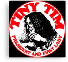 Tiny Tim #6 (Red) Canvas Print