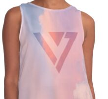 Seventeen- Pink and Blue Contrast Tank