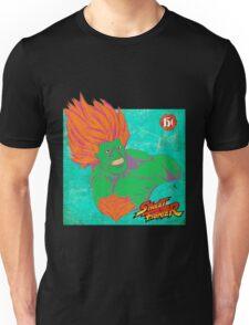 STREET FIGHTER: BLANKA ¡¡¡DANGEROUS!!! Unisex T-Shirt