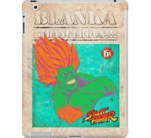 STREET FIGHTER: BLANKA ¡¡¡DANGEROUS!!! iPad Case/Skin