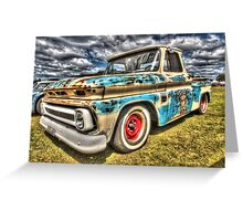 DJ's Surf Shop Chevy. Greeting Card
