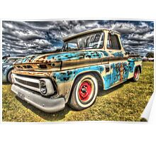 DJ's Surf Shop Chevy. Poster