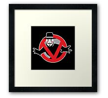 Guybusters Framed Print