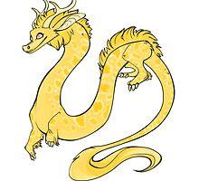 Albino Python Dragon by materiaprimoris