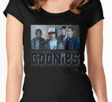 Strange Goonies Women's Fitted Scoop T-Shirt
