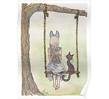 Swing Cat Poster