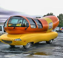 The Wienermobile by Larry Lingard-Davis