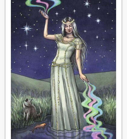 Everyday Witch Tarot - The Star Sticker
