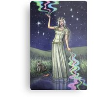 Everyday Witch Tarot - The Star Metal Print