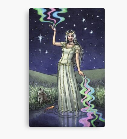 Everyday Witch Tarot - The Star Canvas Print