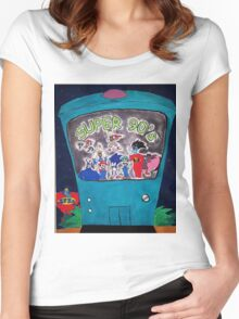 Super 90's! Women's Fitted Scoop T-Shirt