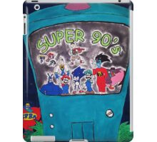Super 90's! iPad Case/Skin