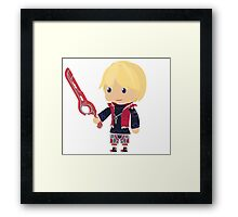 Chibi Shulk Vector Framed Print