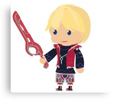 Chibi Shulk Vector Canvas Print