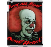 IT IS FINALLY HERE!!! PENNYWISE THE CLOWN SHIRT!!! iPad Case/Skin