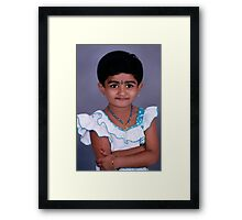 ¸¸.•*´¯`A SWEET FACE THAT CATPURED MY HEART¸¸.•*´¯` Framed Print