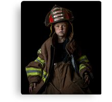 Training Officer in Training Canvas Print