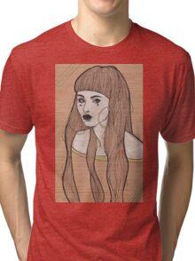 Baby Bangs Tri-blend T-Shirt