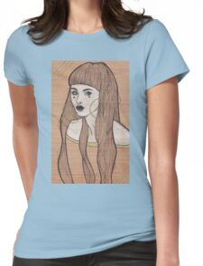 Baby Bangs Womens Fitted T-Shirt