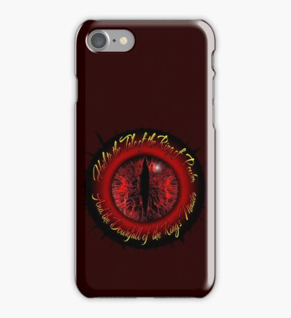 Eye of the Ring iPhone Case/Skin
