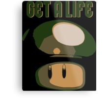 Super Mario Bros. - Get A Life Metal Print