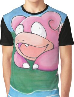 Slowpoke Graphic T-Shirt