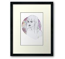 Baby Bangs pt II Framed Print