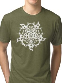 Wolf ZOOFLAKE Tri-blend T-Shirt
