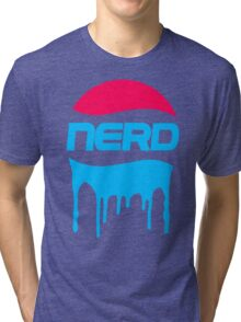 Nerd Blood Fade Tri-blend T-Shirt