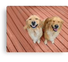 ✿♥‿♥✿   U Sure Do Crack Me UP ..THANKFUL FOR ANIMALS OUR PETS THAT MAKES US SMILE✿♥‿♥✿    Canvas Print