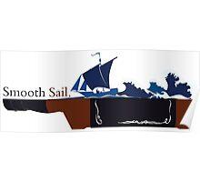 Smooth Sail - Whiskey Poster