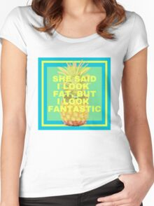 I Look Fantastic Women's Fitted Scoop T-Shirt