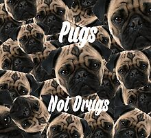 Pugs, Not Drugs by nicnice