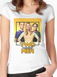 Two and a Half Bangs Women's Fitted Scoop T-Shirt