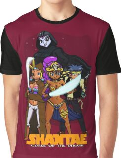 Shantae Wars Episode III:Curse Of The Pirate (UNOFFICIAL) Graphic T-Shirt