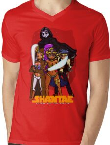 Shantae Wars Episode III:Curse Of The Pirate (UNOFFICIAL) Mens V-Neck T-Shirt