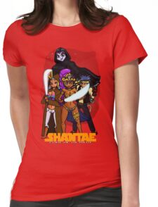 Shantae Wars Episode III:Curse Of The Pirate (UNOFFICIAL) Womens Fitted T-Shirt