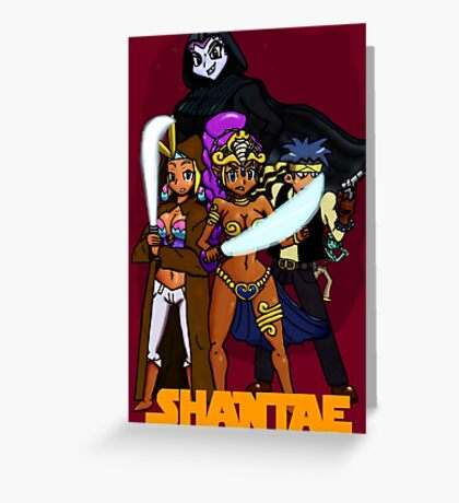 Shantae Wars Episode III:Curse Of The Pirate (UNOFFICIAL) Greeting Card