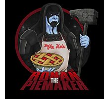 Ronan The Piemaker Photographic Print