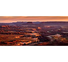 Canyonlands Sunset Photographic Print