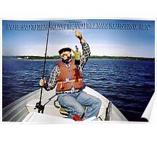 ☝ ☞FOLLOW ME~ FISHERS OF MEN~ BIBLICAL☝ ☞ Poster
