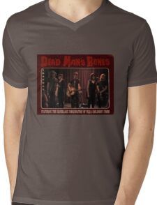 Dead Man's Pizza Mens V-Neck T-Shirt